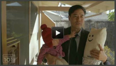 @parkrandall + @Mentalist_CBS = #BabyMentalist > #awesome … via @angryasianmanWatch = http://www.channel101.com/video/1354
