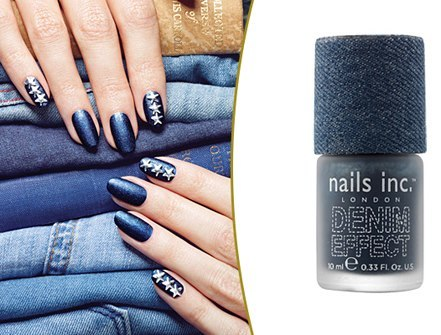 """Featured on today's TrendStream: Beauty Spot: Nails Inc Denim Effect."" -Trendstop Do you like this? I don't."