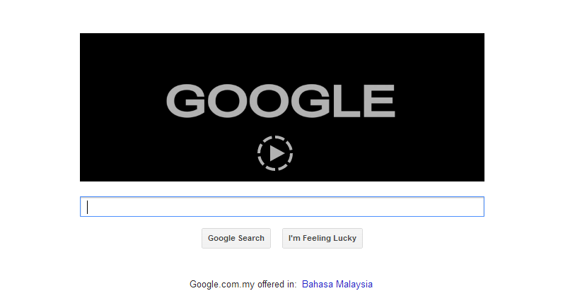 ouwawawa:  5/5/2013 - End of democracy. Tengok, google pun blackout.
