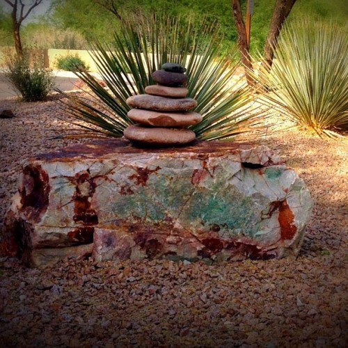A #cairn combines #art and #spirit in the #Arizona desert