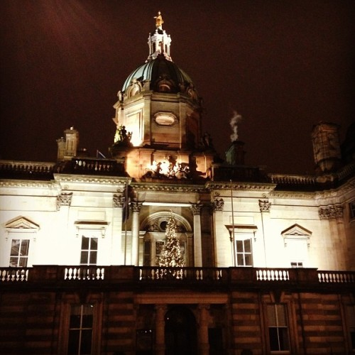 Edinburgh at night #scotland #travel by earthxplorer http://instagr.am/p/UF1ijQs0Wk/