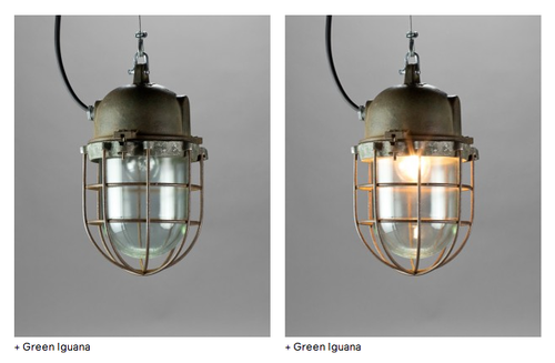 Blom and Blom - All the lamps on the website light up when you hover them. Special note: Blom and Blom are friends of us here at LBD and are true design connoisseurs of the physical world. They will also be featured in our sidebar as a reminder that good design details are not just important on your screen.