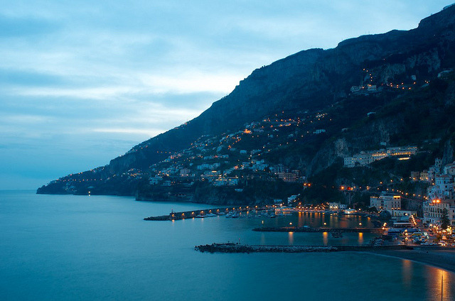 amalfi at sunset by vter1 on Flickr.