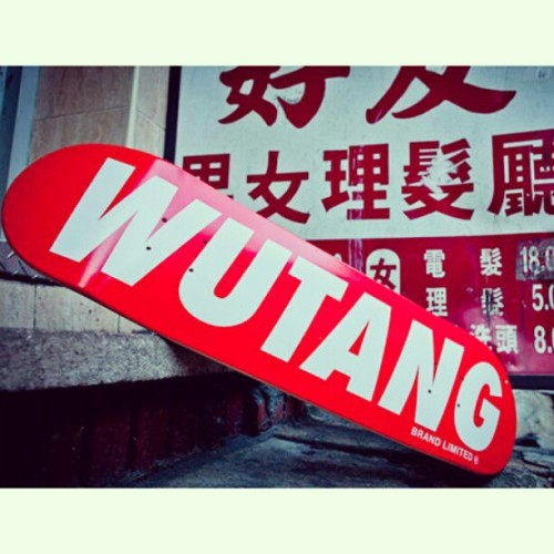 I want this so bad -_-  #wutangclan #wutang #skateboarding #skateboard #skate #skateeverydamnday #followme #likethis #skatemore