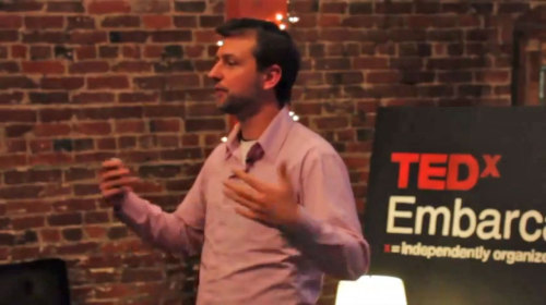 "In October of 2012, I was invited to the TEDx event on ""Crowd Innovation"" to share stories of regular people coming together to crowdfund mass awareness campaigns to accelerate impact and awareness in their countries. The three stories I highlighted from the Louder platform included Greeks coming together to save their tourism industry, supporters of Occupy Wall St. getting their 30 second spot on Fox News' O'Reilly Factor, and a group of college students pushing President Obama to break the #ClimateSilence."