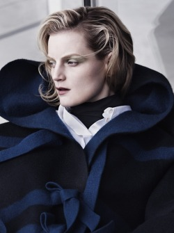 ibkodfashion:  Guinevere van Seenus by Josh Olins, Vogue UK