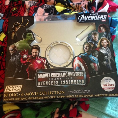 Look what I just got!!! #avengers