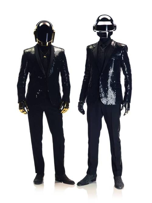 Ken Tucker reviews the new album from Daft Punk, Random Access Memories:  I freely admit that, until the new Random Access Memories, I wasn't much of a fan. I could appreciate the craft and imagination that went into creating the French duo's mixture of electronic genres — techno, house, disco — but the mechanical repetitions and heavily filtered vocals didn't turn me on in any other way. But now, Thomas Bangalter and Guy-Manuel de Homem-Christo have come up with an album that exposes the human side of their musical impulses. It's the equivalent of removing the helmet-masks the pair invariably wears in public performances. Random Access Memories is a collection filled with music that suggests mad romance, heartache and an embrace of the past that's never merely nostalgic or sentimental.  Image courtesy of Sony Music