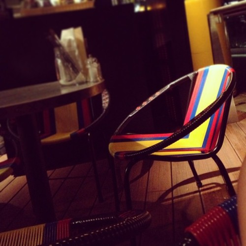 #colombia #chair  (at La Barra)