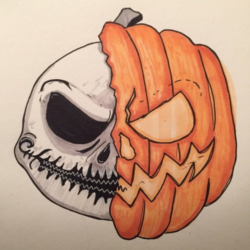 the nightmare before christmas jack skellington nightmare before christmas inktober halloween inktober 2017 attempts