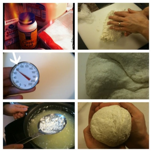 culturecheese:  Ever wanted to try DIY mozzarella? Check out culture's Curds & Whey blog for a step-by-step how-to. Photos by Robin at oursemiorganiclife.com  snow's coming. stay in and make some mozz this weekend!