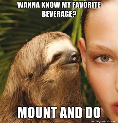 Mine too sloth, mine too. For more amazing content like this be sure to GO LIKE US ON FACEBOOK. Follow this blog for endless hours of laughter
