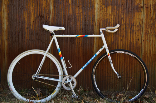 "titsandtires:   (by rogni)   This is a classic ""frame too large for rider"" bike :( I bet it was just bought for the decal on it…"