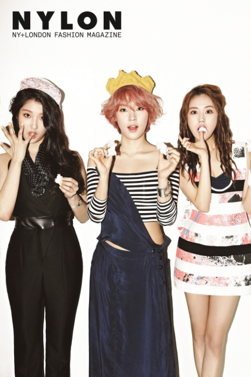 4Minute - NYLON Magazine Photos (3)
