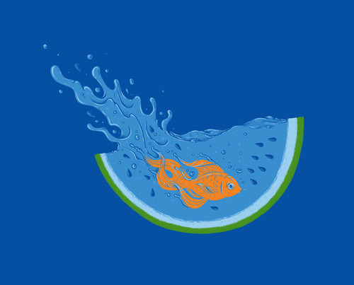 urhajos:  'Watermelon Dive' by Enkel Dika
