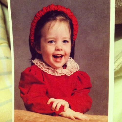 Yep, I'm adorable. #tbt