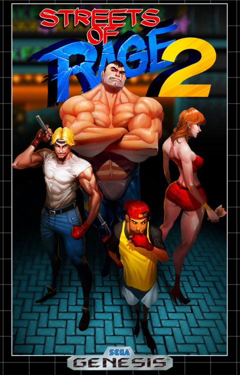 jiggeh:  Streets of Rage 2 by ~Darkdux