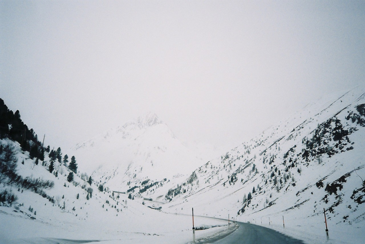 road to nowhere, Tirol Feb. 2013