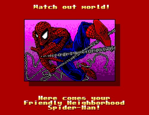 Spider-Man vs. The Kingpin, Sega Master System.