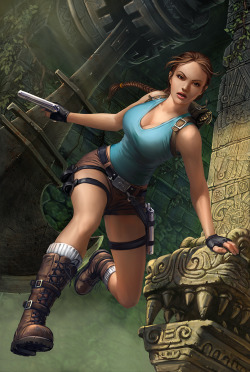 theankhofthewitch:  Lara Croft by *DmitryGrebenkov