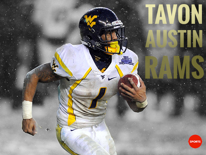The St. Louis Rams made a big trade to grab Tavon Austin. See how the move grades out here.
