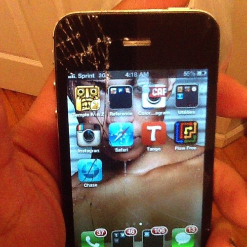 Seriously done wit iPhones I done fixed this bxtch like 50 fxckin times -_-