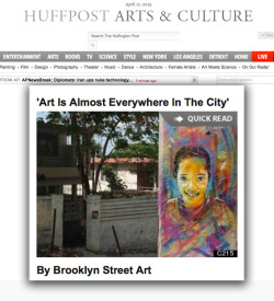 C215 on HUFFINGTON POST today with BSA #streetart #stencilshttp://www.huffingtonpost.com/jaime-rojo-steven-harrington/c215-explores-the-colors-in-haiti_b_3096578.html?utm_hp_ref=artsC215: I simply need to get inspired. I'm not looking for famous people; Instead I look for anonymous ones who anyone can identify withImage of Huffington Post Arts and Culture page © C215