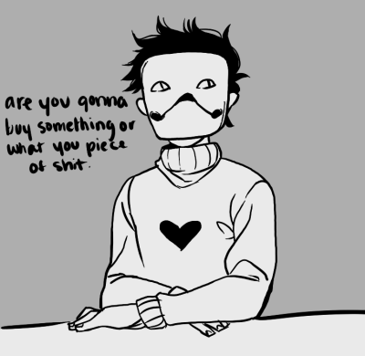 zacharie is loads of fun to draw omg.