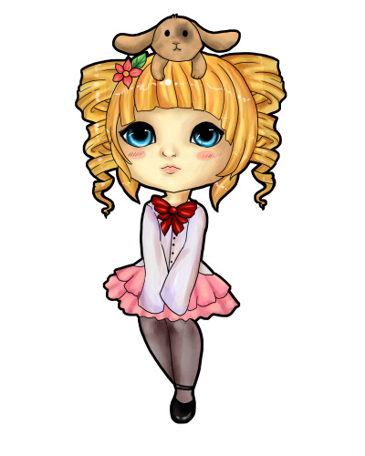 here have a chibi~ for evelin333 on gaia