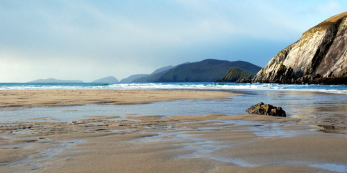 Photo of the Day: 'Kerry Coast II' by Paul Finnegan.  Beach on the Dingle Peninsula.   This photo is available to buy from only €25 at http://www.lokofoto.com/photos/4437