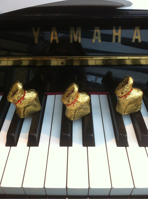 Reindeer on the keys