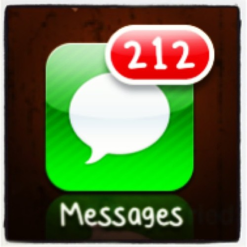 Once my family discovered iMessage, they went CRAZY. 😳