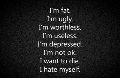mylifeliesbleeding:  I hate myself on @weheartit.com - http://whrt.it/RSzPdF