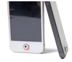 mishkataiwan:  Mishka Keep Watch iPhone home button sticker