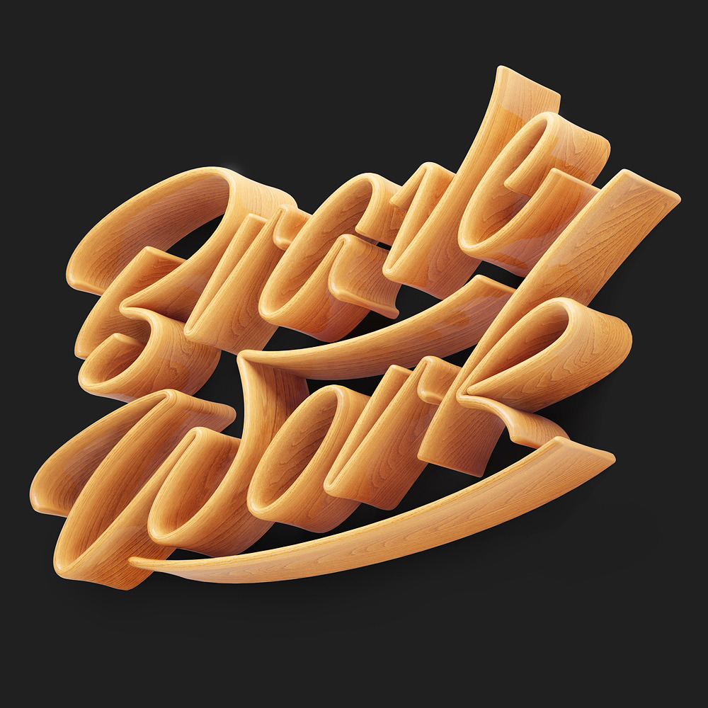 Stunning Typography Works by David McLeod