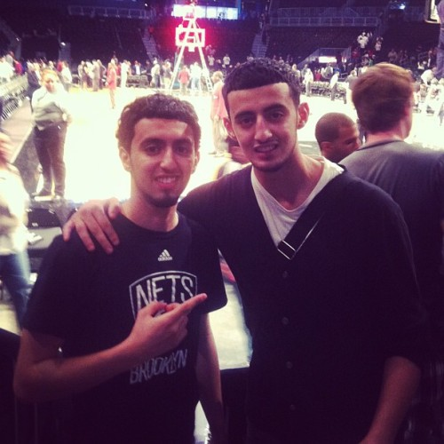 Brooklyn nets game @legendarykid3