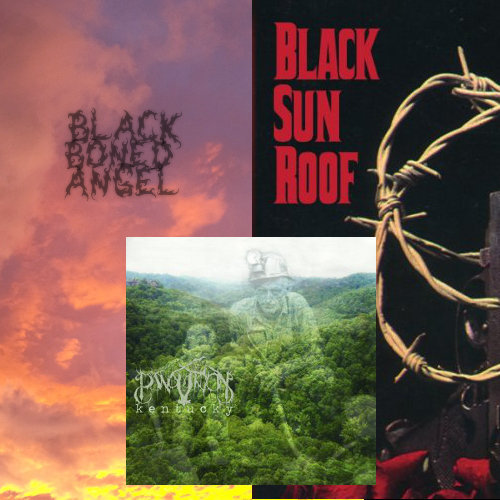 "BLACK BONED ANGEL ""THE END"" ; BLACK SUNROOF! ""4 BLACK SUNS & A SINISTER RAINBOW"" ; PANOPTICON ""KENTUCKY"" NOW AVAILABLE FOR ORDER!"