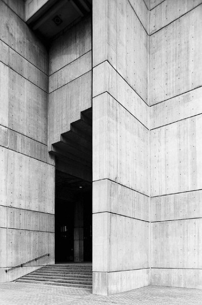 Boston City Hall, MA. Kallmann, McKinnell + Knowles with Campbell, Aldrich + Nulty, 1961-68 Photographed by Hagen Stier