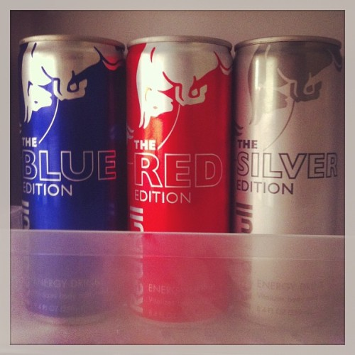 A must in my new fridge #RedBull