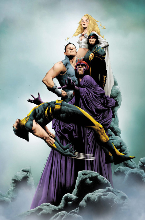 Wolverine #6 cover by Jae Lee.
