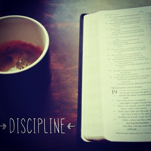 #Discipline Is Not a #Dirty Word