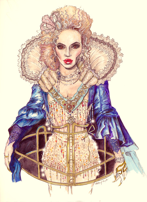 Beyoncé - Mrs. Carter Show Tour (Draw By Toblerone22)