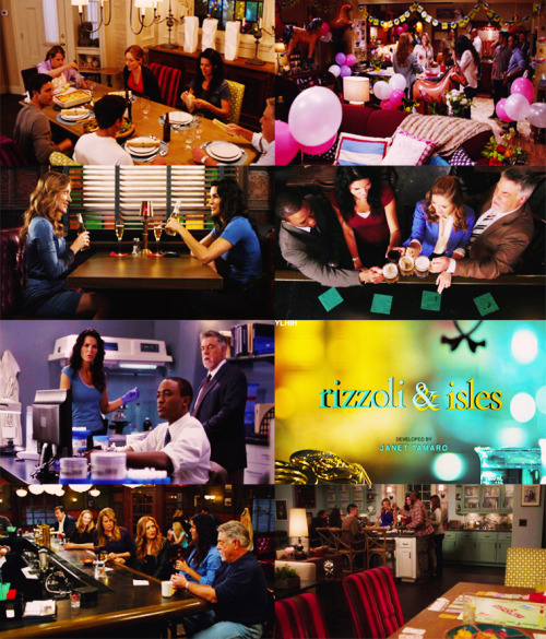 Fangirl Challenge- [10] tv shows 3. Rizzoli and Isles