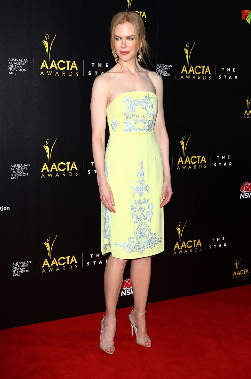 Mr. Blasberg's Best-Dressed List: Nicole Kidman in Erdem Photo credit: Getty Images