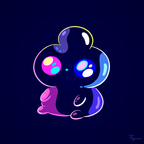 // Jelly Kid Forever // You guys have seen the latest episode of Bravest Warriors, right? If not, look over here.Jelly Kid has a special place because he was the first character I designed for the show to really take off—quickly eclipsed by Catbug.On a tip from Breehn, I ran into this amazing fan theory about Jelly Kid, or more scientifically, Luxogelata Filius. Read it; it's awesome.