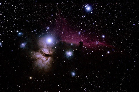 Horsehead Nebula by Ken Nicholas by Horsehead Heritage on Flickr.