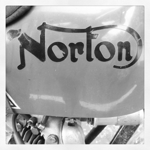 #norton #nortonmotorcycle #british #smokeymountains #thesnake