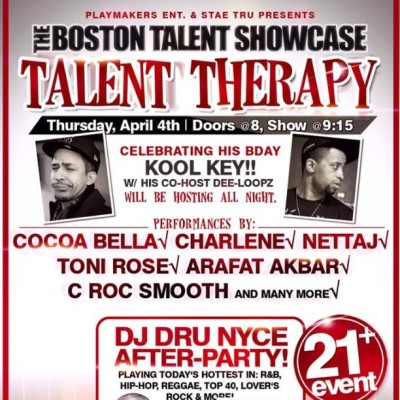 This Thursday April 4th #LetsGo @kool_key