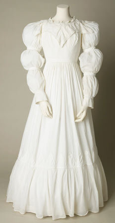 Day dress, ca 1823-25, Sudley House