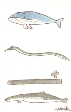 a whale plus a snake makes a basilosaurus